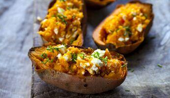 Süßkartoffel enthalten gute Carbs