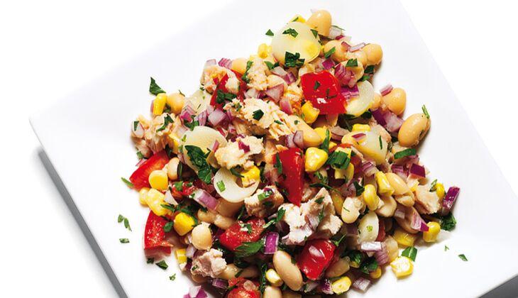 Texanischer Tunfisch-Bohnen-Salat