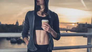 Trainingsbooster Kaffee