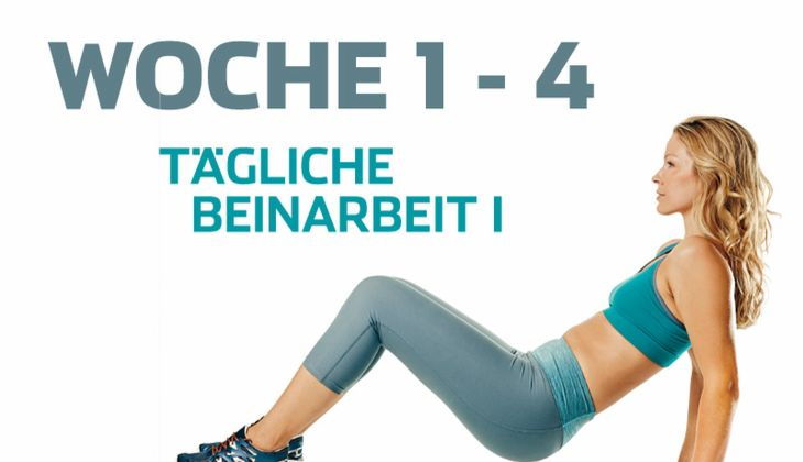 Trainingsplan Schlanke Beine