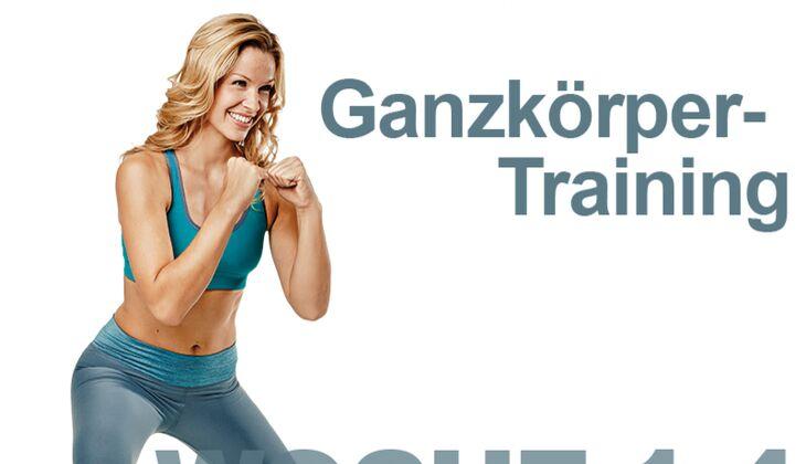 Trainingsplan flacher Bauch: Woche 1-4 / Ganzkörper-Training
