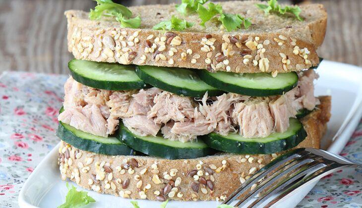 Tunfisch-Sandwich