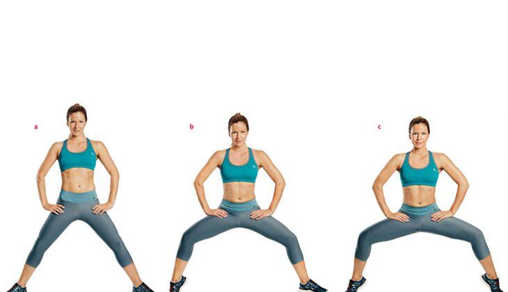Übungen für einen sexy Knackpo