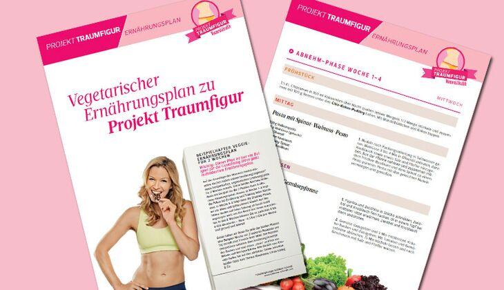 Vegetarischer Ernährungsplan als Download