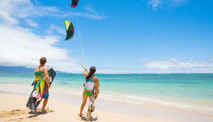 Versuchen Sie nicht, sich das Kiten selbst beizubringen – das ist gefährlich