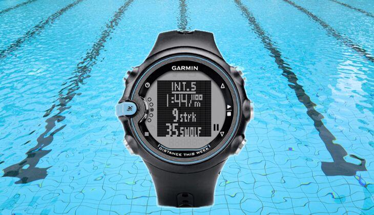 Wasserfester Zeitmesser: Garmin Swim, um 150 Euro