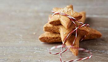 Weihnachtsplätzchen mit wenig Kalorien