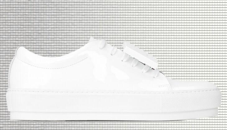 Weiße Sneaker von Acne