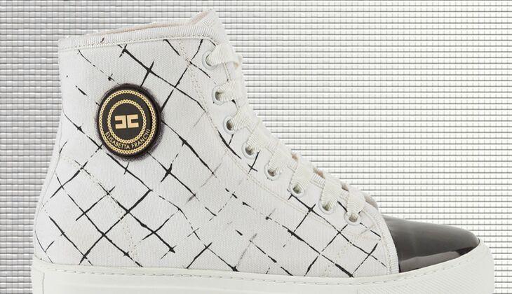 Weiße Sneaker von Elisabetta Franchi