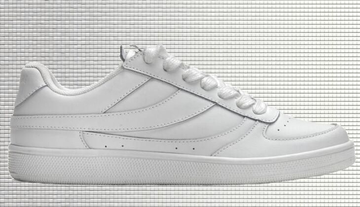 Weiße Sneaker von Mango