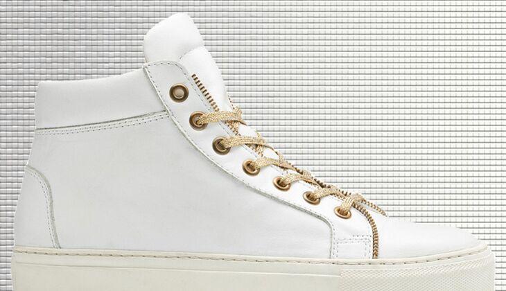 Weiße Sneaker von Navyboot