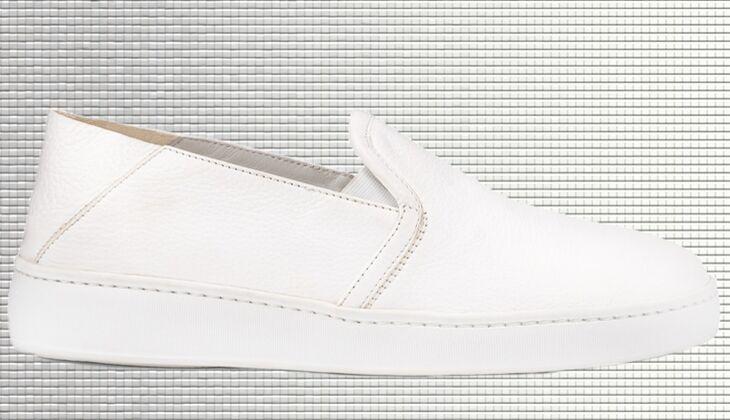Weiße Sneaker von Santoni