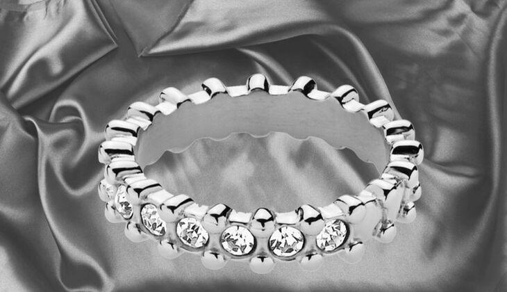 Wellenförmiger Ring von Dyrberg/Kern, zirka 49 Euro