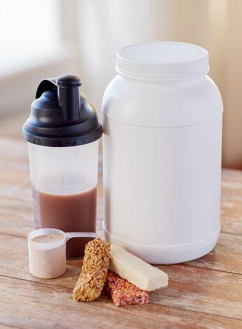 Wenn Sie nicht auf Ihre Ernährung achten, helfen auch Pillen, Pulver und Shakes nicht.