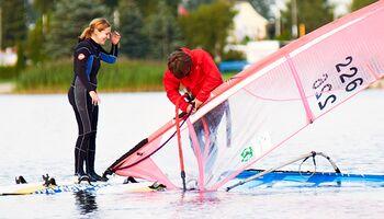 Windsurfen lernen in 6 Wochen