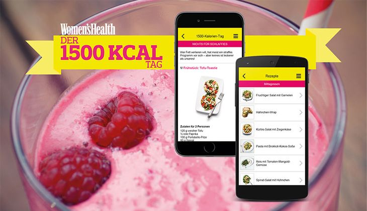 Women's Health: 1500 Kalorien Tag
