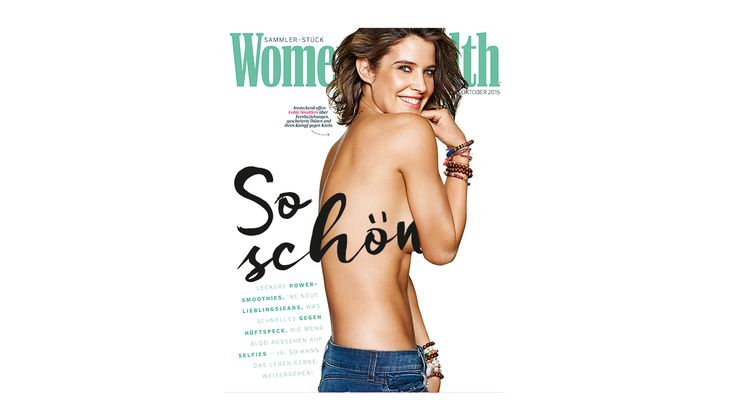 Women's Health Abo-Cover 2015: Cobie Smulders