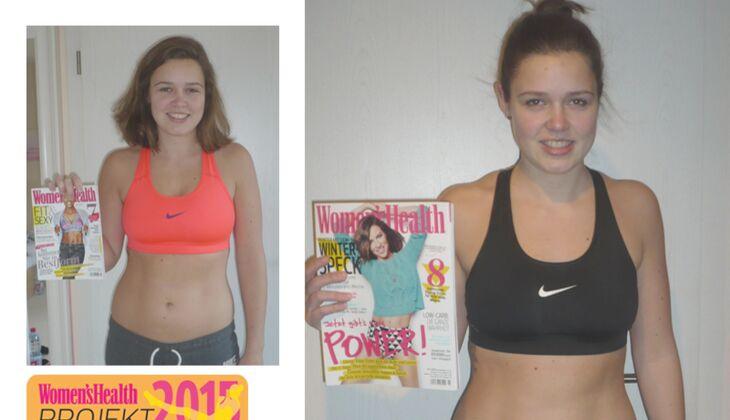 Women's Health – Projekt Sexy Bauch: Alle Teilnehmerinnen im Vorher-Nachher-Vergleich