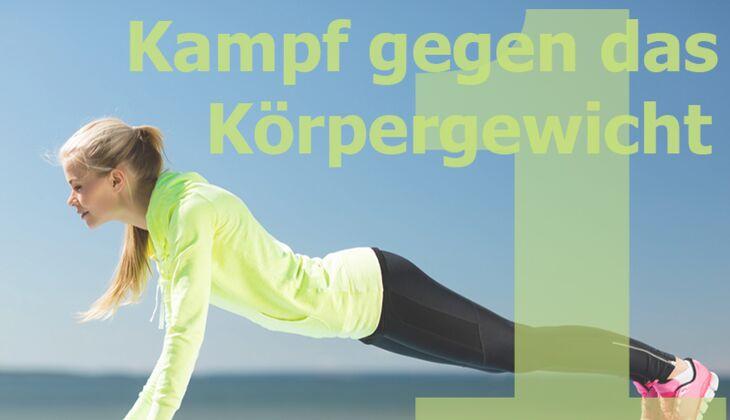 Workout Nr. 1 zum Fett verbrennen: Kampf gegen das Körpergewicht