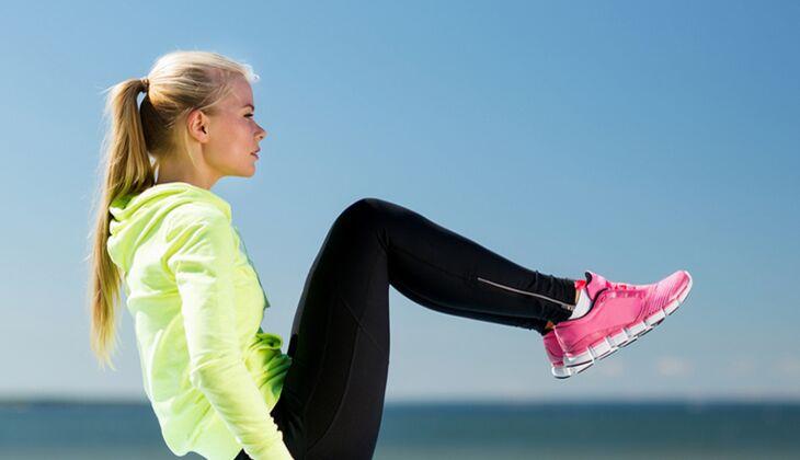 Workout für den Beckenboden