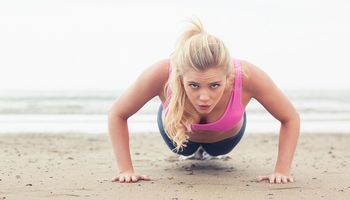 Workout für den Strandurlaub