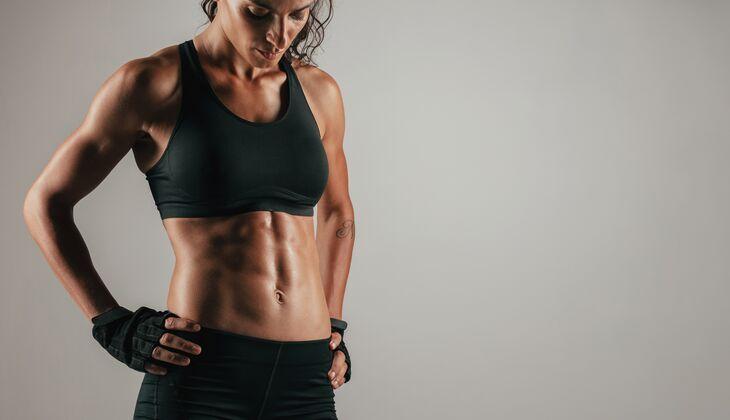 Workout für sexy Bauchmuskeln