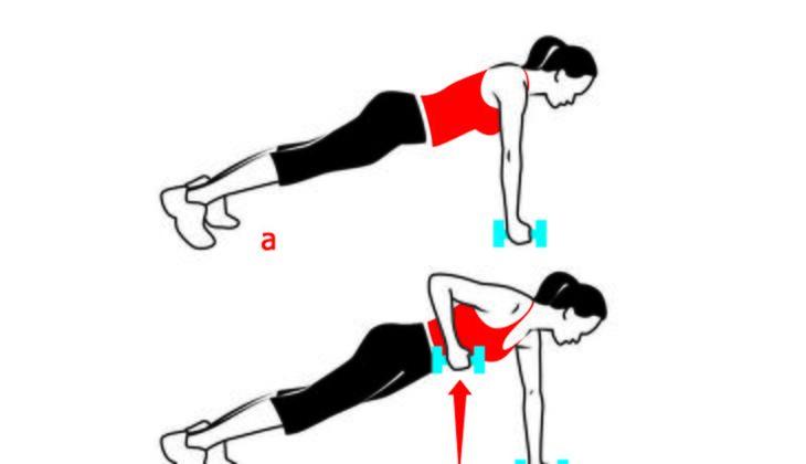 Workout für starke Arme