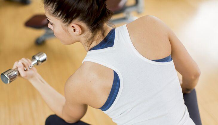 Workout für straffe, definierte Oberarme