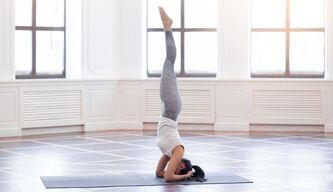 Yoga-Pose mit Wow-Effekt: Mit dieser Anleitung lernen Sie den Kopfstand Schritt für Schritt