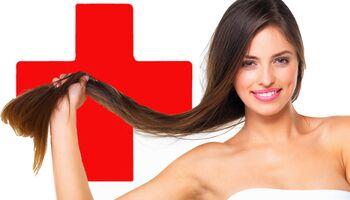 Zu viel Haarpflege schadet dem Haar