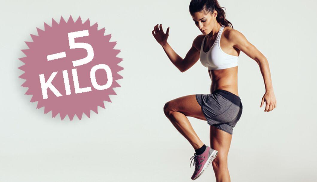 5 Kilo abnehmen – so klappt's!