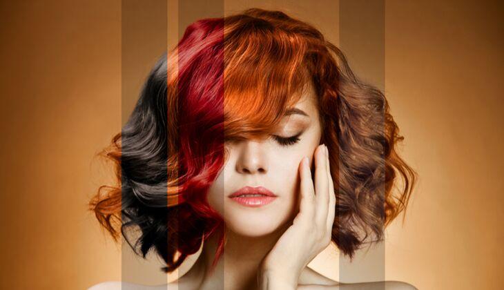 Haare farben ohne pinsel