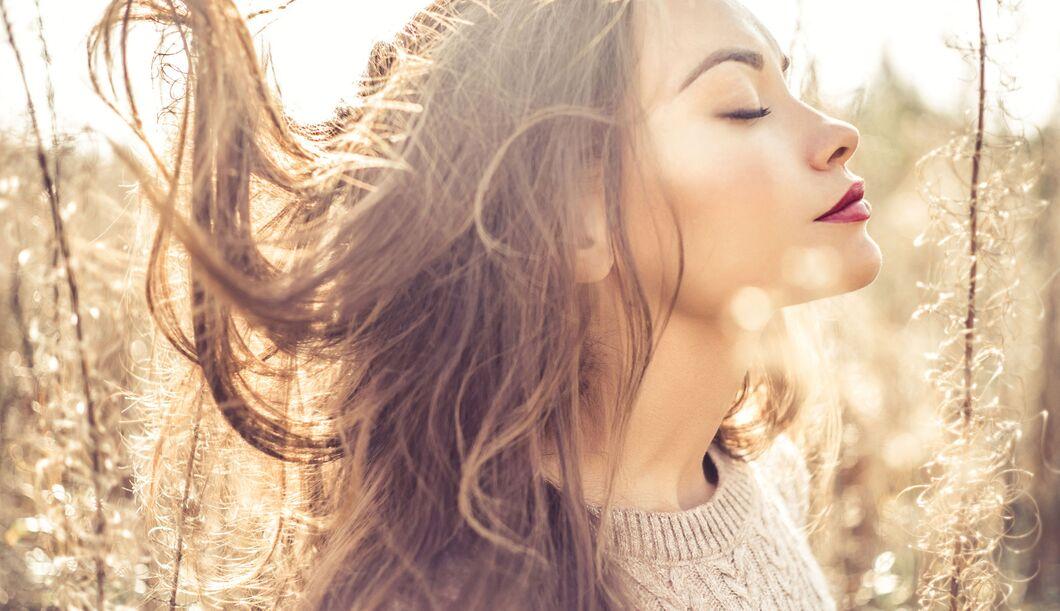 Gesundes Haar von innen