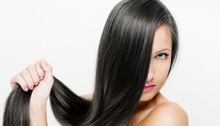 Haare fohnen glanz