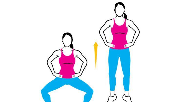 Ihr Easy Workout Fur Po Und Oberschenkel Womenshealth De
