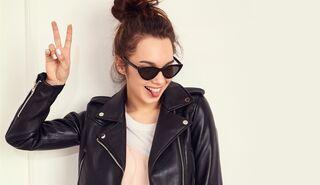 hot sale online f42dd f8ebd So stylen Sie Ihre Lederjacke richtig | Women's Health